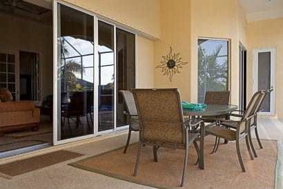 Visoglide sliding patio door