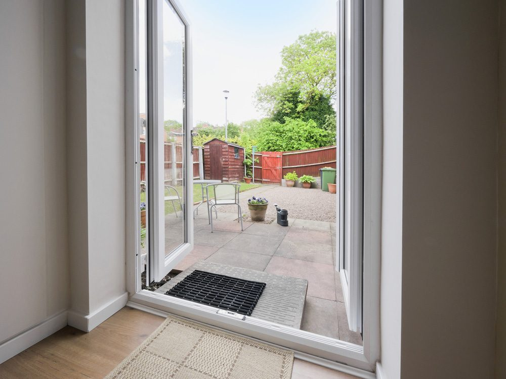 origin french doors in a house