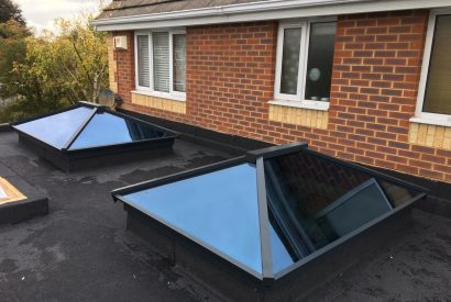 atlas lantern roofs in flat roof